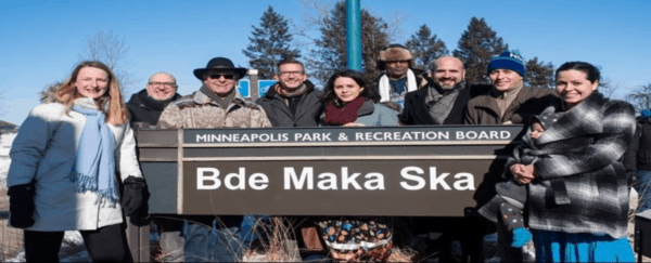 Renaming A Lake Sends Message