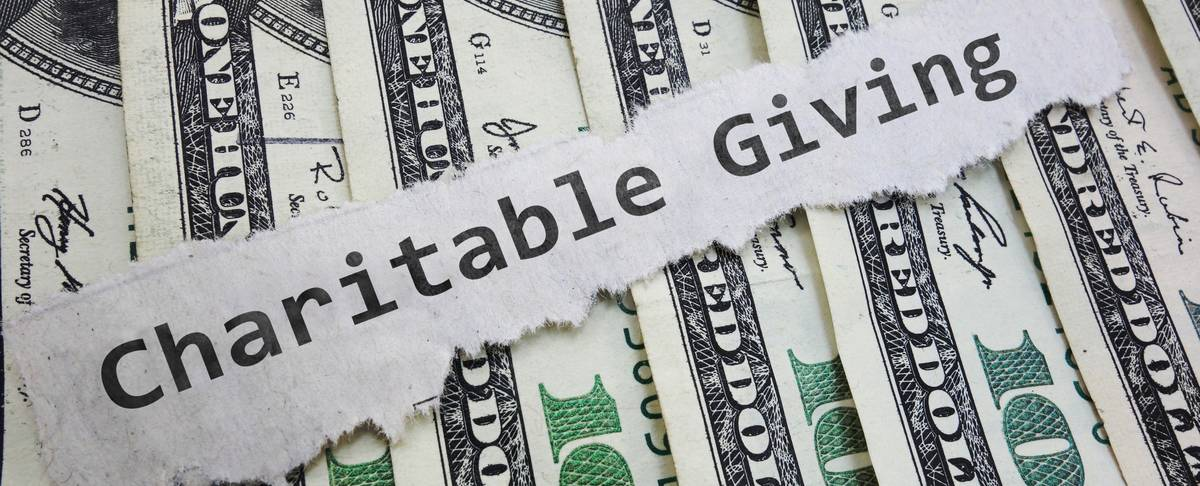 Charitable Contribution money