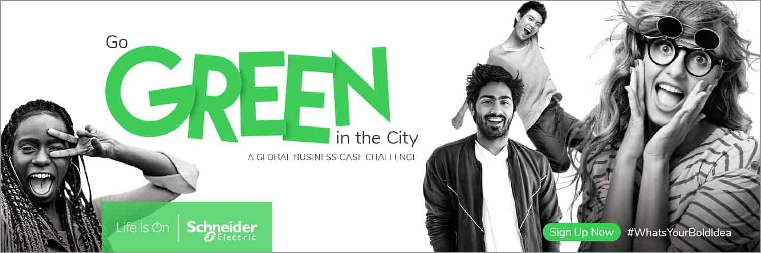 Schneider Electric's Go Green in the City 2019