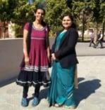 Dr. Vinod Maan and Sunayana pic