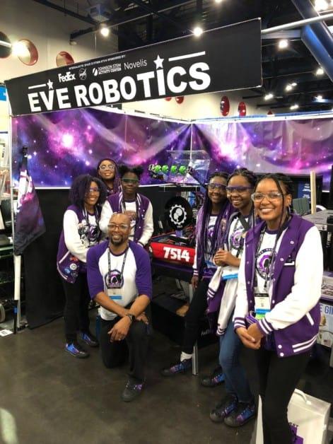 FIRST team Eve Robotics