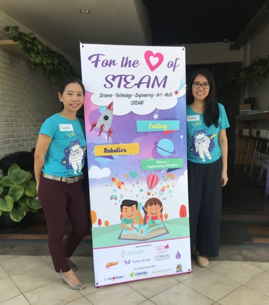 For the Love of STEAM: SWE Jakarta's Outreach Event SWE Jakarta