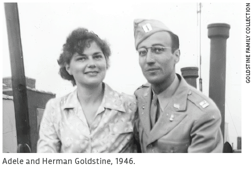 Adele and Herman Goldstine, 1946.