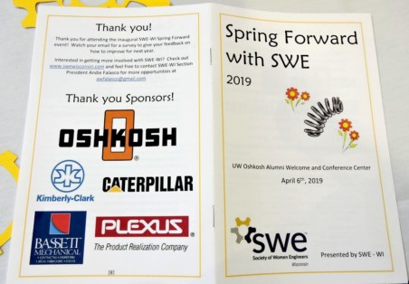 Spring Forward with SWE Event Hosted by SWE-Wisconsin