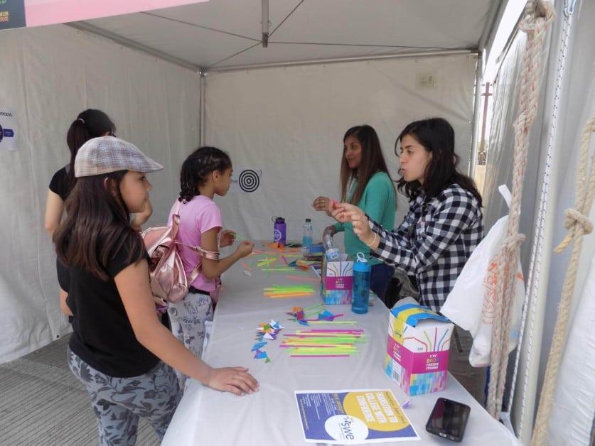 SWE Outreach at Philadelphia Science Festival