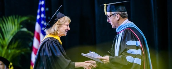 Penny Wirsing Receives Distinguished Alumni Award from Alma Mater