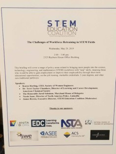 SWE's Advocacy for Women in STEM Won't Stop SWE's Advocacy
