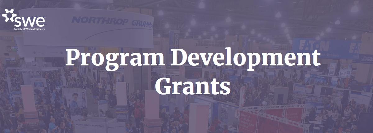 Apply for FY20 Program Development Grants Today!