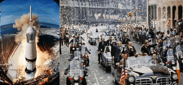 Apollo 11 launch images