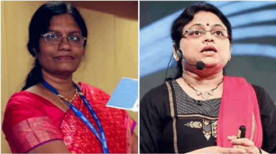 Muthayya Vanitha and Ritu Karidhal, women behind Chandrayaan-2