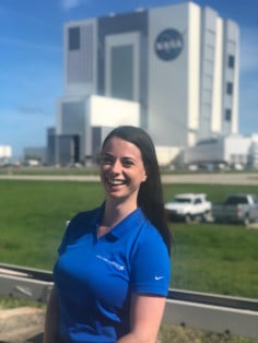 Renee Frohnert, NASA Orion Ascent Abort 2 Test at NASA Kennedy Space Center