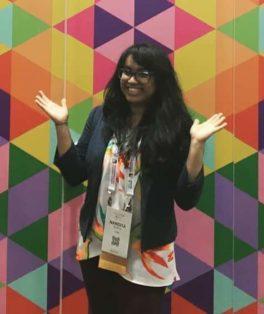 Motorola Solutions scholarship recipient Nandita Gupta
