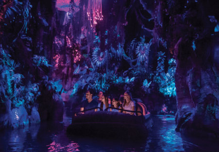 """Pandora — The World of Avatar"" at Disney's Animal Kingdom river scene"