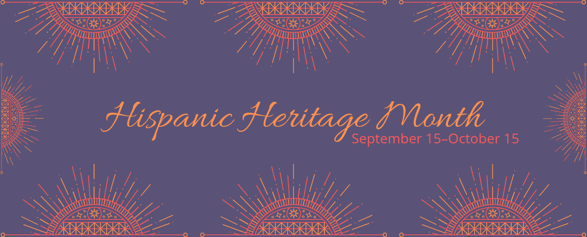 Hispanic Heritage Month graphic