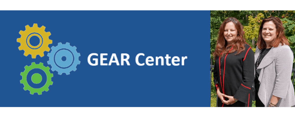 GEAR Center challenge winners Deena Disraelly and Laura Itle