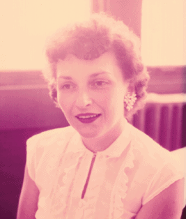 photo of Jeanne Brodie as a young woman.