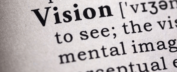 Dictionary excerpt of the word vision