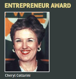 Entrepreneur Award Cheryl Collarini