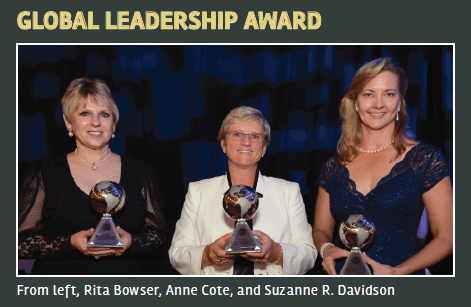 SWE Global Leadership Award