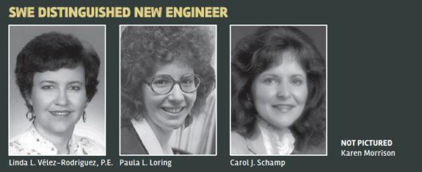 SWE Distinguished New Engineer Award