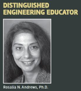 Distinguished Engineering Educator Rosalia N. Andrews