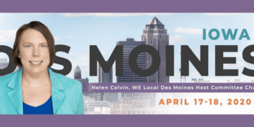 2020 WE Local Des Moines banner