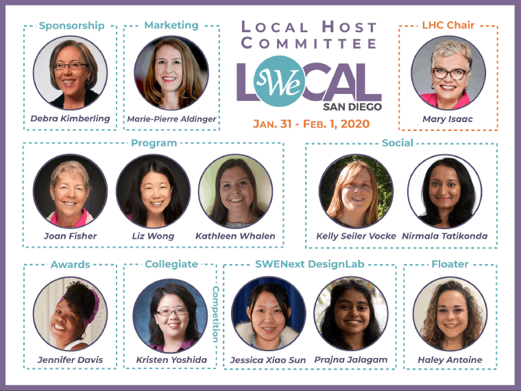 Meet your WE Local San Diego Host Committee