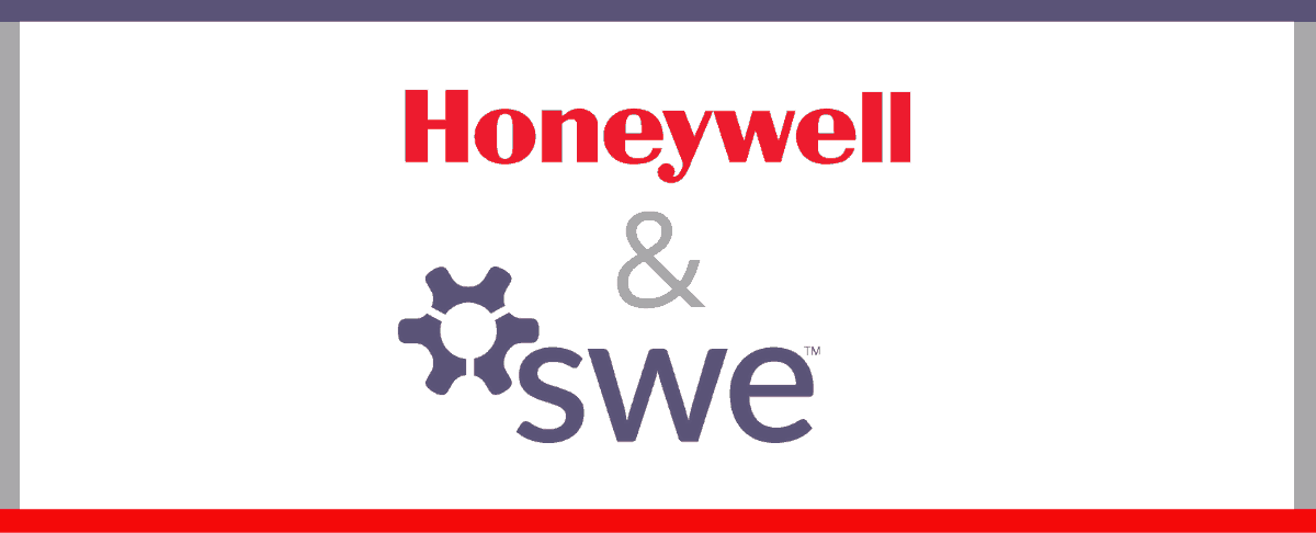 Honeywell and SWE logos