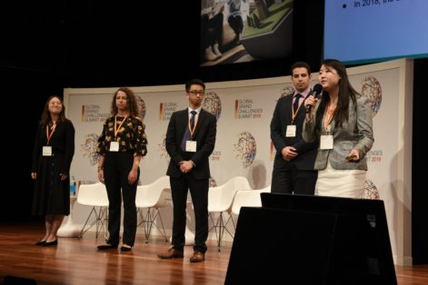 Postlytics, finalist at the Global Grand Challenges Summit in London
