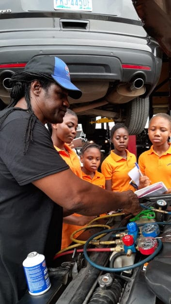 SWE & Milex Host Hands-On Outreach Event for SWENexters in Nigeria outreach nigeria
