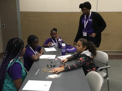 """Eastern NC SWE Inspires Girl Scouts to """"Be That Engineer!"""" Eastern NC SWE"""