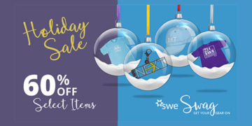 Happy New Year! Get Your SWENext Swag at 60% Off! SWENext Swag