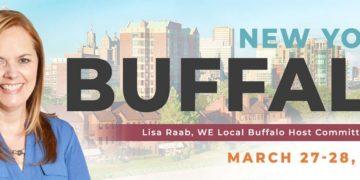 WE Local Buffalo graphic