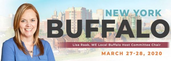WE Local Buffalo graphic