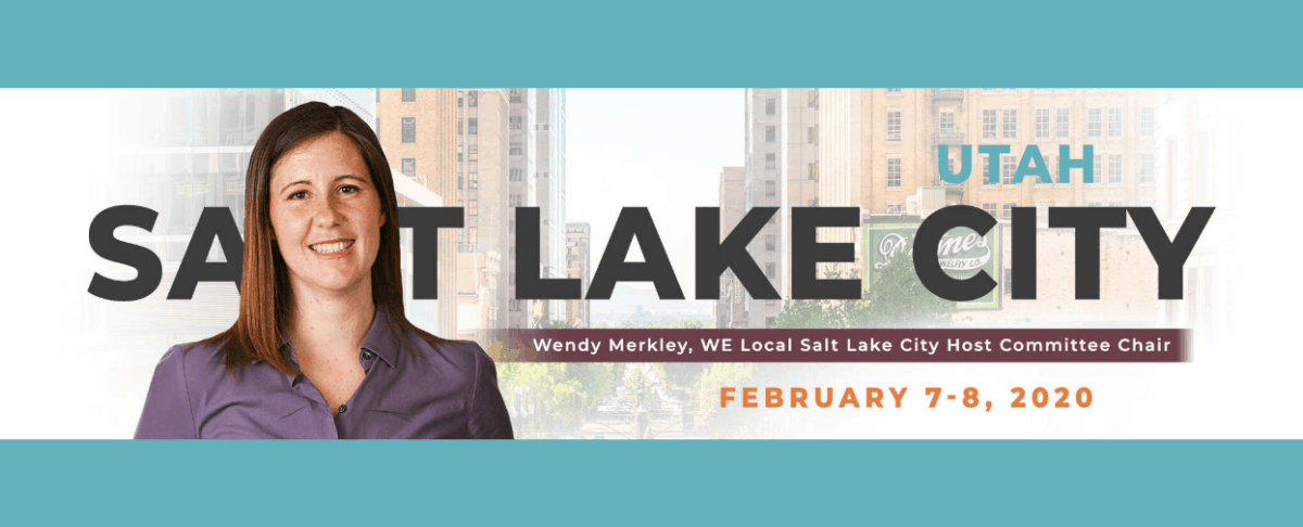 Featured image for Countdown to WE Local Salt Lake City