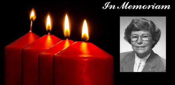 In Memoriam:mary B. Mccarthy, F.swe 1923 – 2019