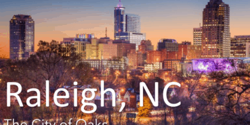 raleigh city of oaks graphic