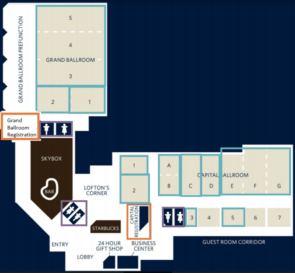 site map for WE Local Raleigh