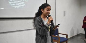 speaker at Alfaaz 3.0