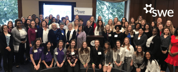group photo from 2020 SWE Capitol Hill Days