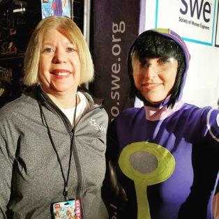 Karen with Constance
