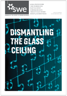 Dismantling the Glass Ceiling SWE Magazine cover