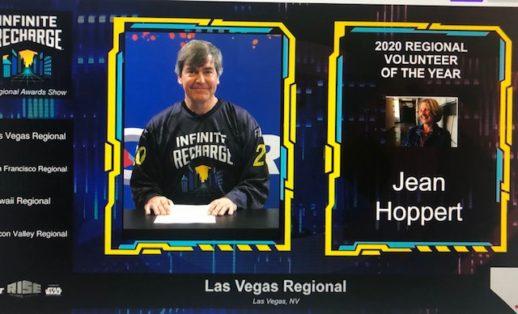 Jean Hoppert Las Vegas Volunteer of the Year