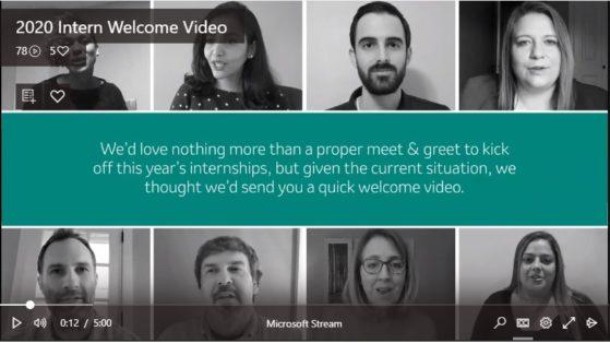 Merck Intern Video