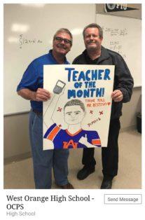 SWE Celebrates Teacher Appreciation Day teacher