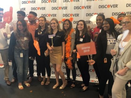 Internship Team from Discover