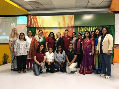 FY19 SWE President Penny Wirsing visits John Deere India in 2018
