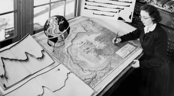 6 Women Pioneers of Ocean Exploration - Marie Tharp
