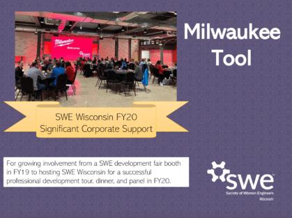 SWE Wisconsin Awards - Milwaukee Tool