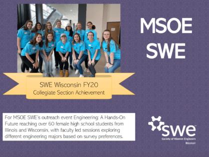 SWE Wisconsin Awards - MSOE SWE